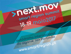 Next.Mov–Smart Region Summit realiza-se dia 18 e 19 de maio no Autódromo Internacional do Algarve