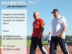 Tavira incrementa o programa «Diabetes em movimento»